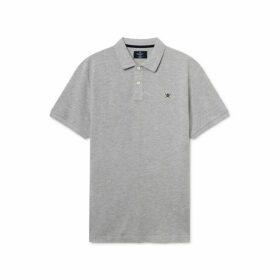 Hackett Slim Fit Logo Short-sleeve Polo Shirt