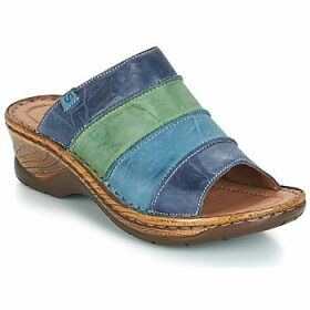 Josef Seibel  CATALONIA 64  women's Mules / Casual Shoes in Blue
