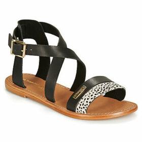 Les Tropéziennes par M Belarbi  PIPA  women's Sandals in Black