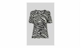 Zebra Print Rosa T-shirt