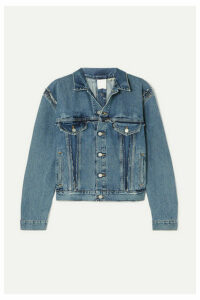Vetements - Double-sided Distressed Denim Jacket - Indigo