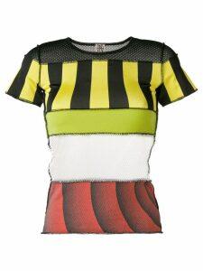 Jean Paul Gaultier Pre-Owned patchwork T-shirt - Black