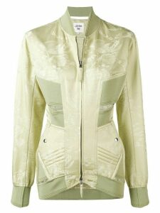 Jean Paul Gaultier Pre-Owned fitted cut out detailing jacket - Green