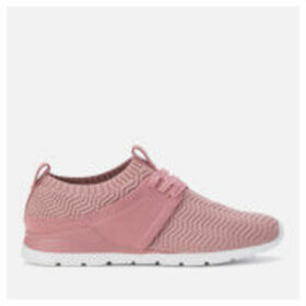 UGG Women's Willows Knitted Runner Style Trainers - Pink Dawn - UK 3