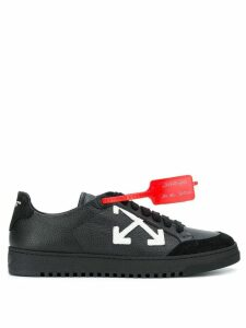 Off-White red tag trainers - Black