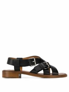 Church's crossed strap sandals - Black