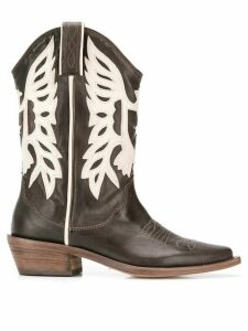 P.A.R.O.S.H. cowboy boots - Brown