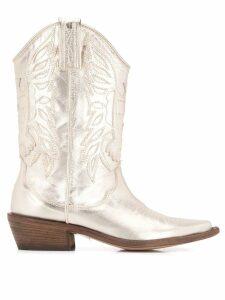 P.A.R.O.S.H. texan boots - Metallic