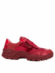 Rombaut contrast panel sneakers - Red
