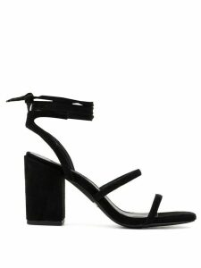 Senso Olly tie around sandals - Black