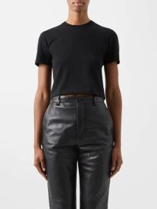 The Row - Amoy Single-breasted Belted Cashmere Coat - Womens - Navy