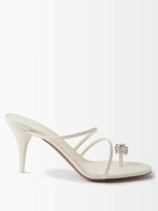 Raey - Japanese Cotton-jersey Hooded Sweatshirt - Womens - Grey