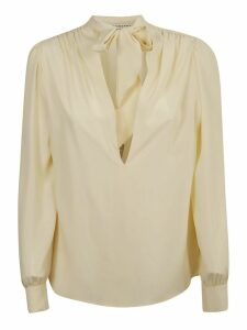 Philosophy di Lorenzo Serafini Bow Detail Blouse