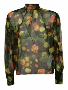 MSGM Fruit Print Blouse