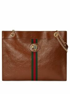 Gucci Rajah large tote - Brown