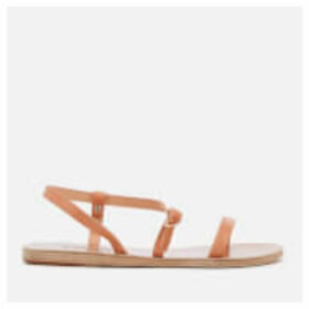 Ancient Greek Sandals Women's Niove Leather Barely There Sandals - Natural
