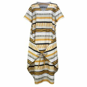 Baukjen - Jasmine Blouse In Soft White Meadow Floral