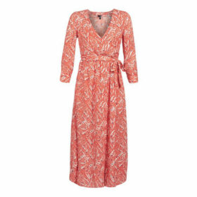 Vero Moda  VMMARY  women's Long Dress in Red