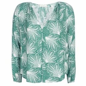 See U Soon  GARAGAVE  women's Blouse in Green