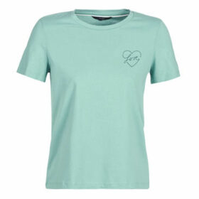 Vero Moda  VMLOVERS  women's T shirt in Green