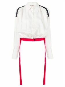 Marni long sleeve blouse - White