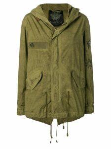 Mr & Mrs Italy army parka jacket - Green