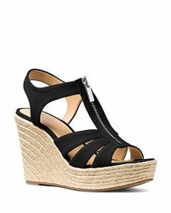 Michael Michael Kors Women's Berkley Woven Espadrille Wedge Sandals