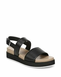 Via Spiga Women's Davi Leather Platform Sandals