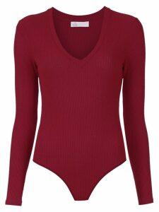 Nk long sleeved bodysuit - Red