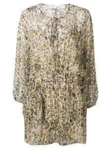 IRO long sleeved summer dress - Brown