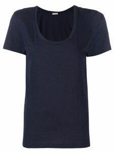 Moncler v-neck T-shirt - Blue