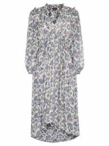Isabel Marant Norja paisley print midi dress - Blue