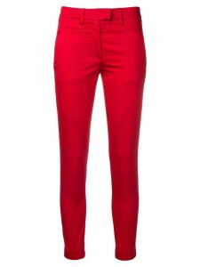 Dondup cropped trousers - Red