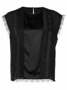 Jason Wu lace-detail blouse - Black