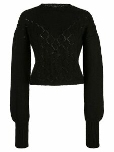 Voz Diamante Sweater - Black