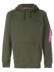 Alpha Industries pocket detail hoodie - Green
