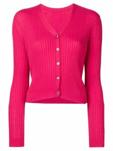 Sottomettimi ribbed cardigan - Pink