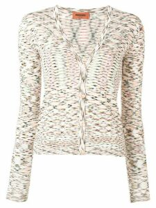 Missoni v-neck cardigan - White
