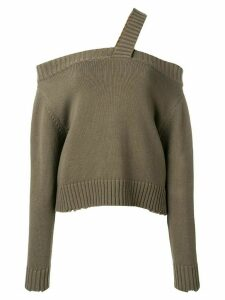 RtA off shoulder jumper - Green