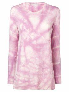 Stella McCartney tie-dye sweatshirt - Purple