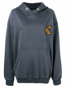 Vivienne Westwood Anglomania oversized Anthracite hoodie - Blue