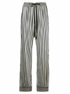 Nicole Miller Pajama stripe - Black