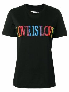 Alberta Ferretti Love Is Love print T-shirt - Black
