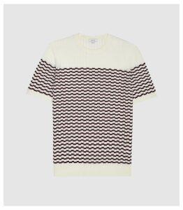 Reiss Aberton - Short Sleeved in White, Mens, Size XXL