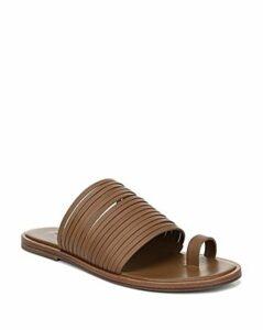 Vince Women's Penrose Strappy Leather Slide Sandals
