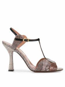 L'Autre Chose T-bar sandals - Grey