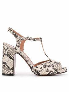 L'Autre Chose high heel sandals - White