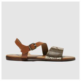 Schuh Gold Venice Sandals