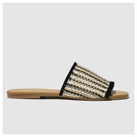 Schuh Black Naples Sandals