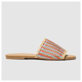 Schuh Beige & Blue Naples Sandals